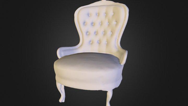 Retro Chair 3D Model