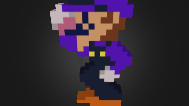 Waluigi.zip 3D Model