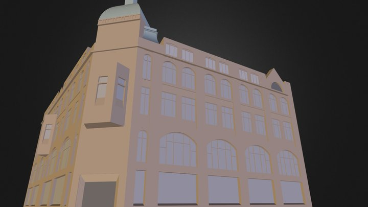 Old printing house 3D Model