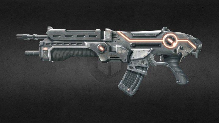 Assault 3D Model