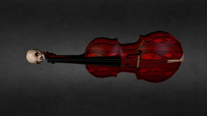 Discordant Fiddle 3D Model