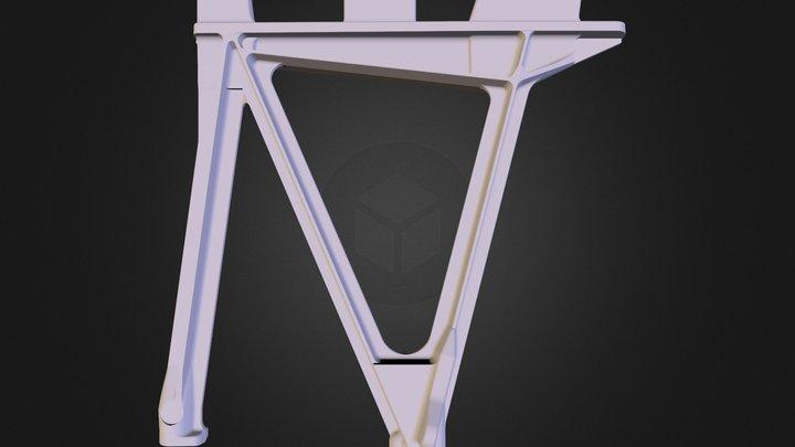 truss motor mount.wrl 3D Model