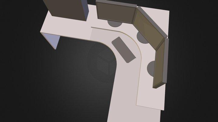 table.dae 3D Model