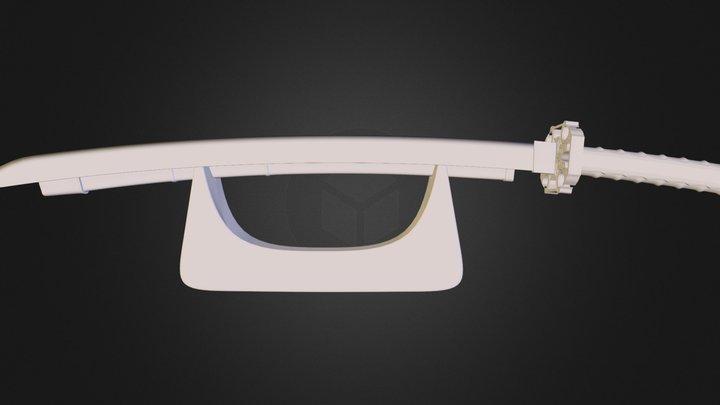 katana.obj 3D Model