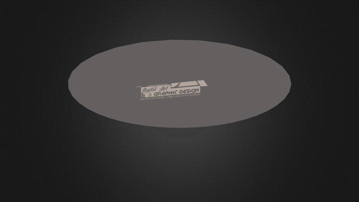 OZSA LOGO 3D SCENE.3ds 3D Model