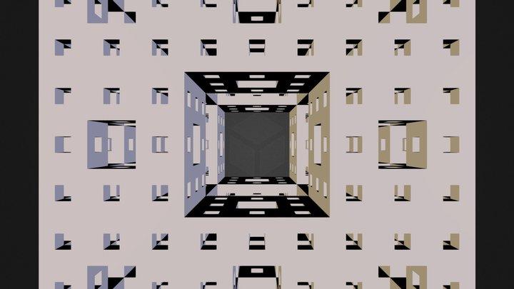 cube3.stl 3D Model