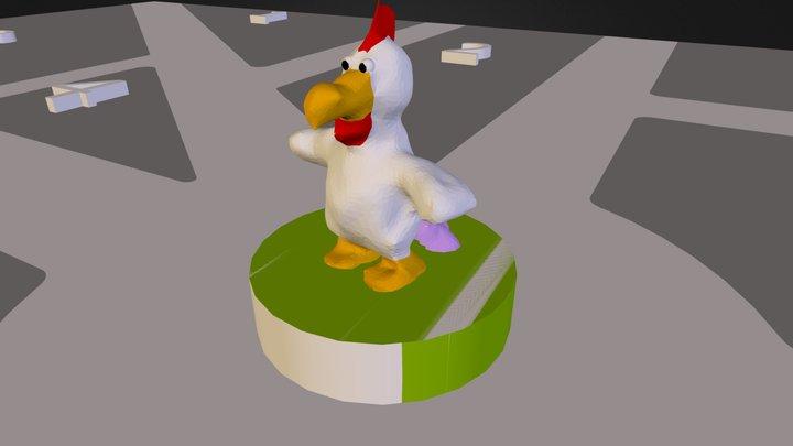 GueggelTown 3D Model