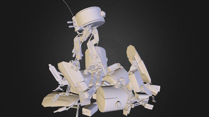 junkyard.obj 3D Model