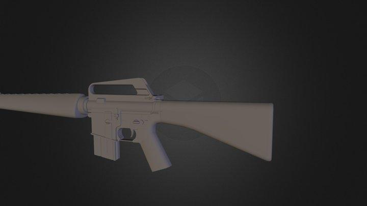 m16a1 3D Model