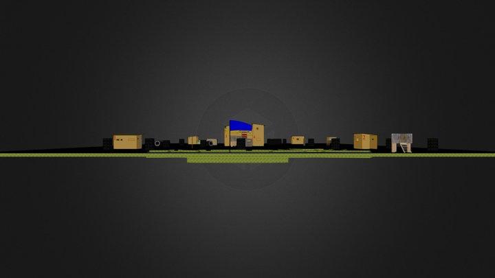 1Paintball.kmz 3D Model