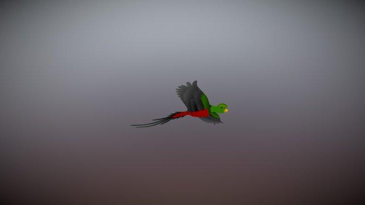 Quetzal-2013mr07 3D Model