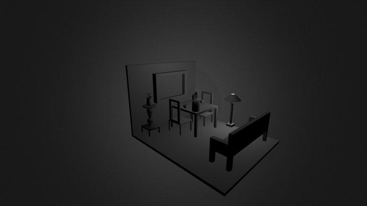 sala.blend 3D Model