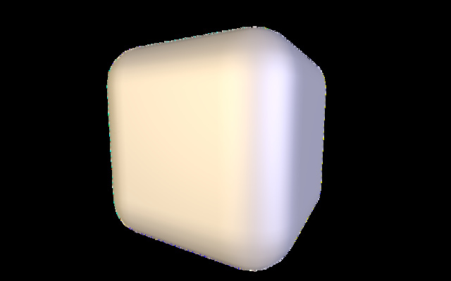 cube.obj 3D Model