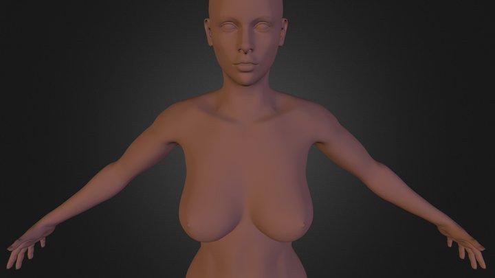 Female body sculpt 3D Model
