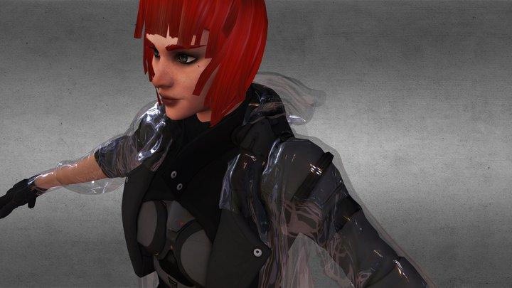 CyberPunk Fashion 3D Model