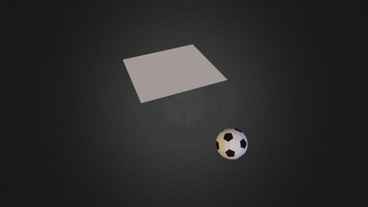balon de futbolblend1 3D Model