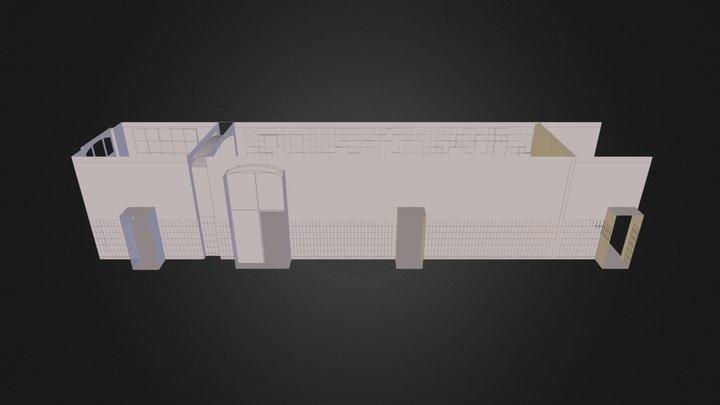 OGS Stiftsschule/Flur 3D Model