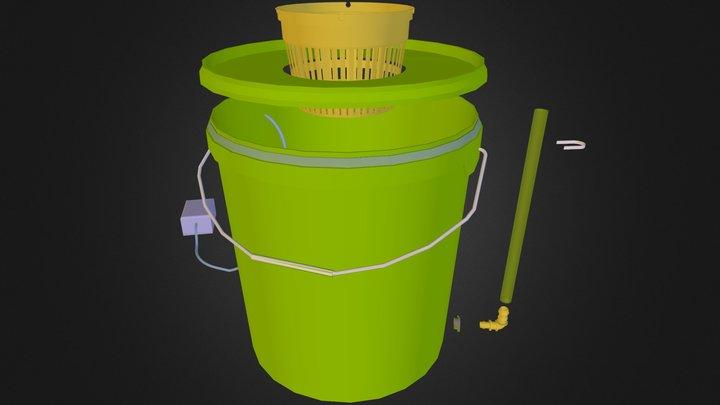 AquaPot 3D Model