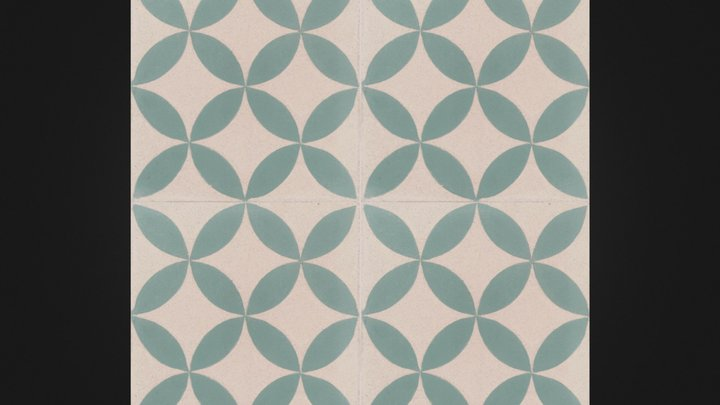 Jota- Moroccan tile 3D Model