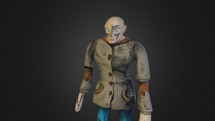 Hobo 3D Model