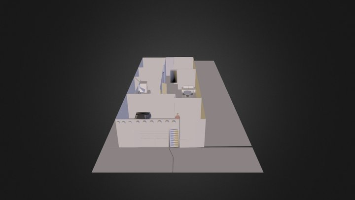 CasaPetrolera.dae 3D Model