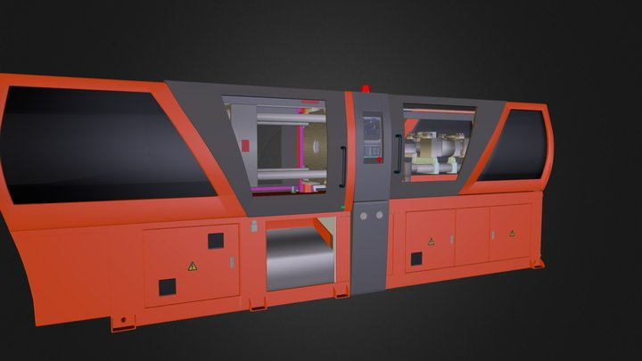 wtryskarka.zip 3D Model
