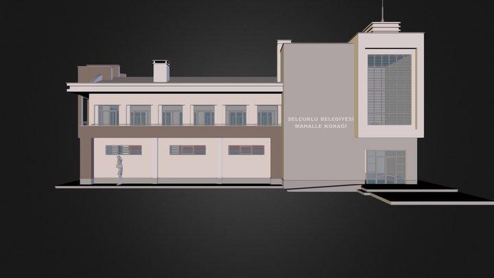 Mahalle Konağı 3D Model