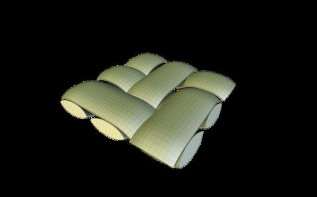weave3.obj 3D Model