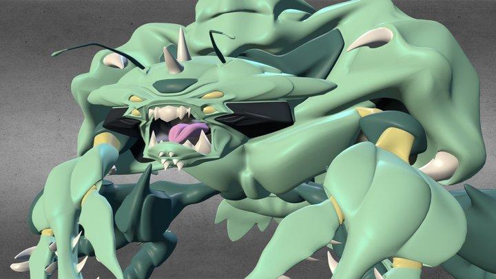 undertow.blend 3D Model