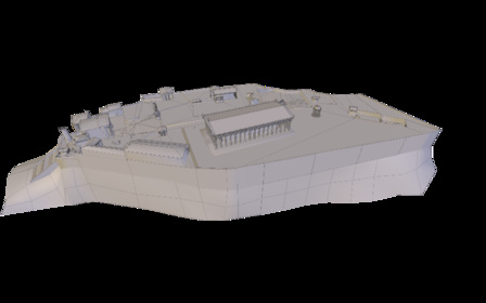 Athenian Acropolis 3D Model