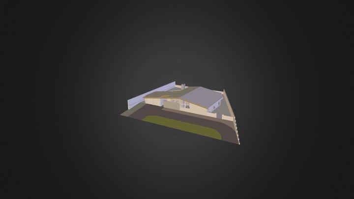 Mid Century Net-Zero Retrofit 3D Model