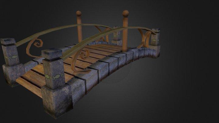 Pond Bridge.obj 3D Model