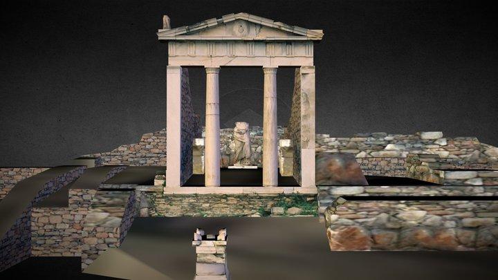 Temple of Isis, Delos 3D Model