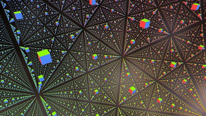 Cube of cubes 3D Model