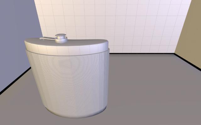 FLASK2,5.obj 3D Model