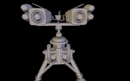 Rocket_Sentry_Ver3.3DS 3D Model