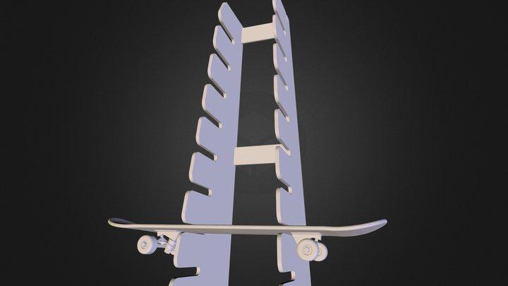Boardrack-8 3D Model