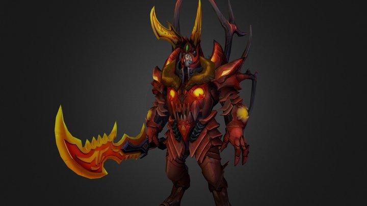 Doom Bringer - Blood Haiden Set 3D Model