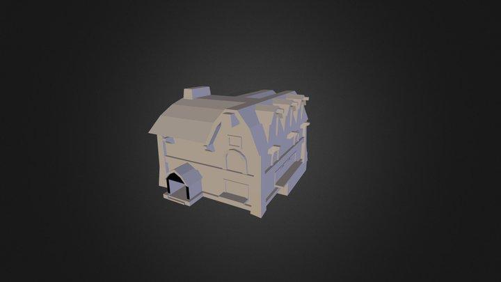auberge_wow_test.FBX 3D Model