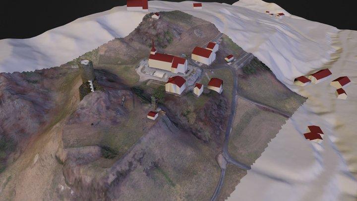 Montagny-les-Monts 3D Model