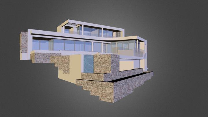 VILLA A MICHEL 3D Model
