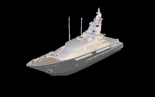 Vizup test - boat model reduced 80% 3D Model