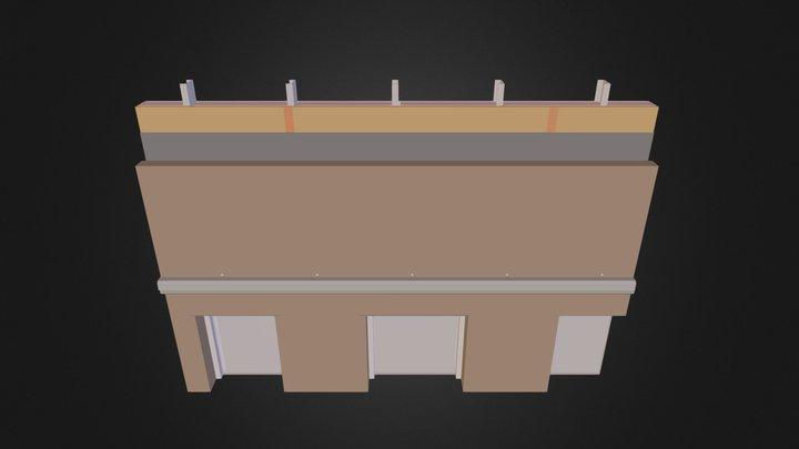 PCG Brick AD.3DS 3D Model