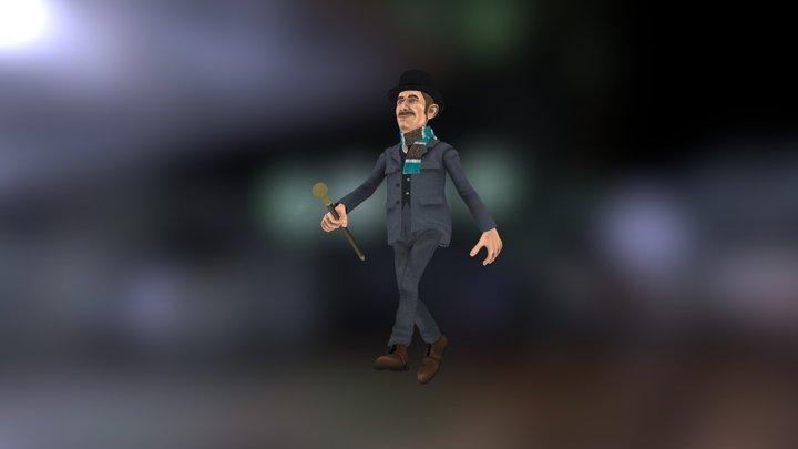 Watson 3D Model