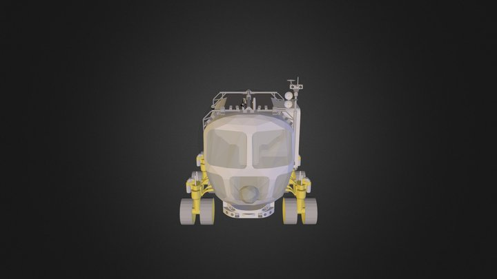 Moon Buggy Test 3D Model