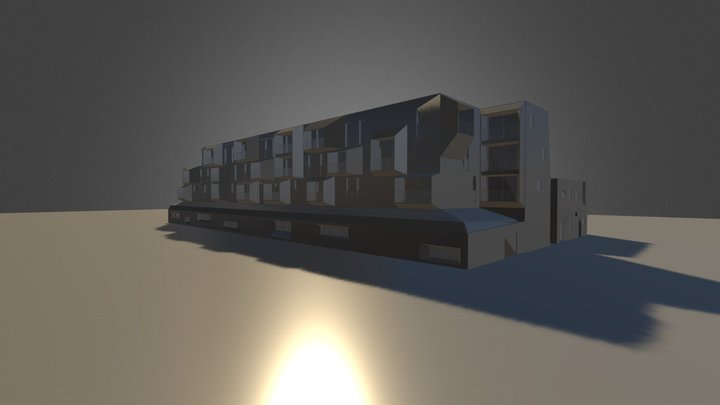 housing in Roubaix (FR) 3D Model