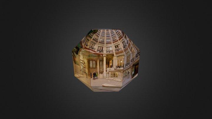 La Pedrera - Pati Provença (Barcelona) 3D Model