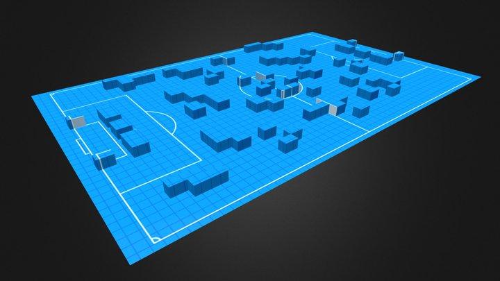 Default Map 3D Model