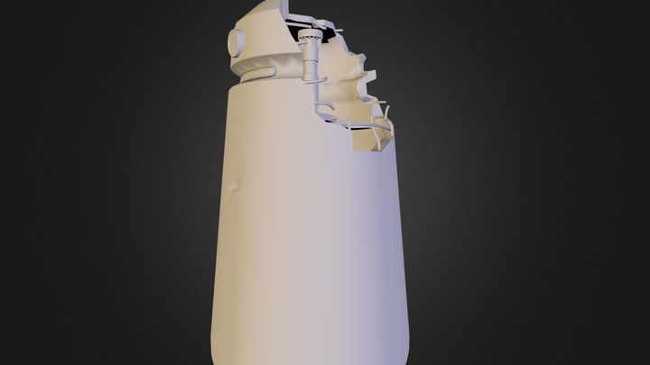 tower_inside_structure_low.obj 3D Model