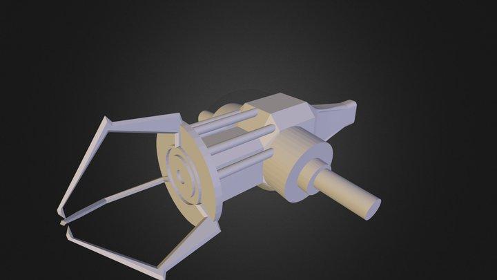 Half Life 2 Gravity Gun 3D Model